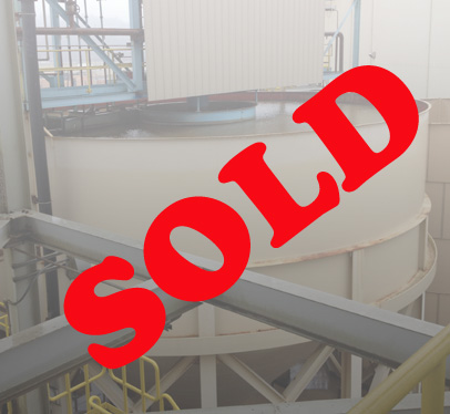 SOLD Thickener